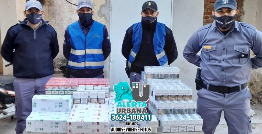 Mas de mil paquetes de cigarrillos incautados en Colonias Unidas