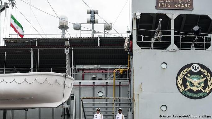 Un buque iraní se hundió bajo circunstancias poco claras