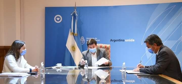 El gobernador Capitanich firmó convenios con la Nación