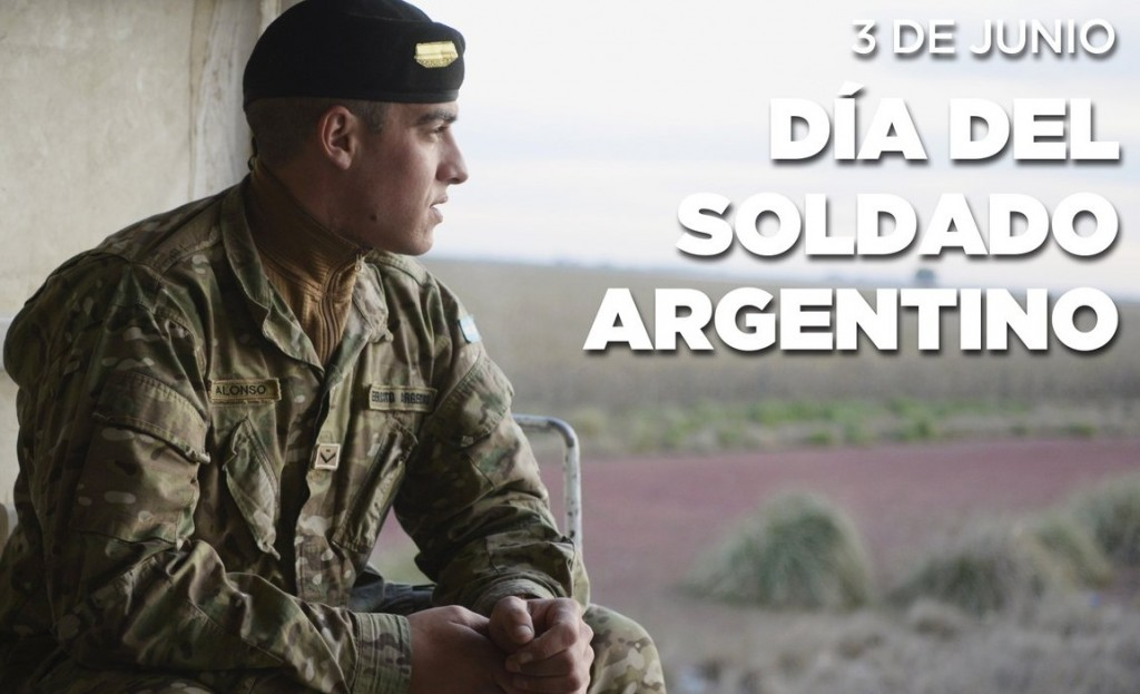 3 de mayo día del Soldado Argentino