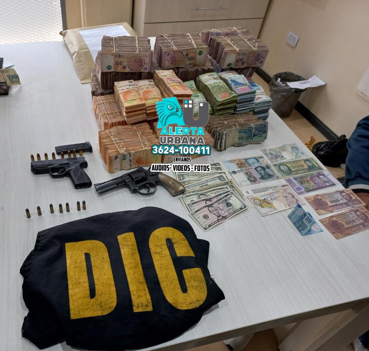 Desbaratan cueva financiera, relacionada con robos en la vía pública