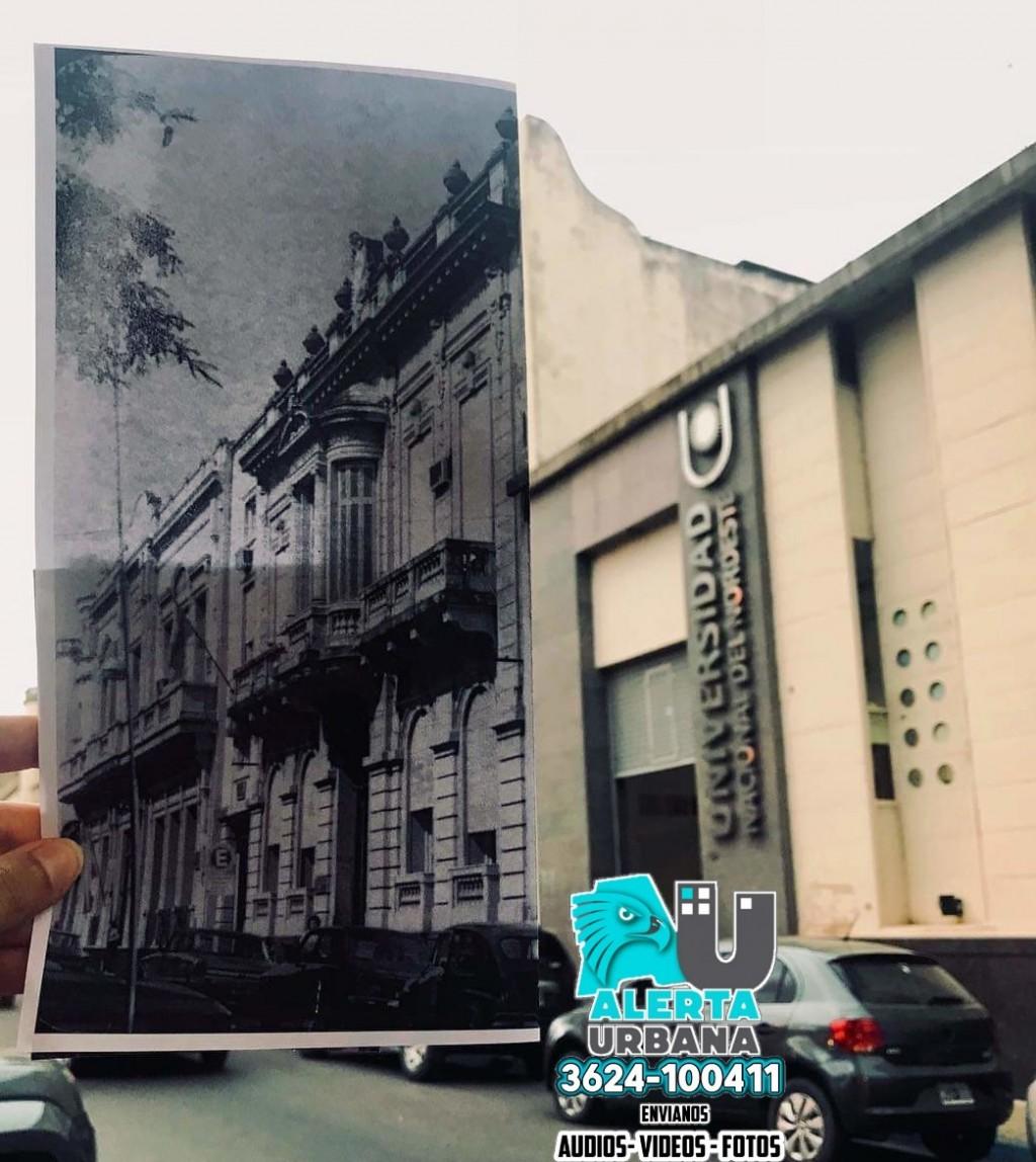 Casa Vedoya, actual sede del Rectorado de la UNNE, cumple 100 años
