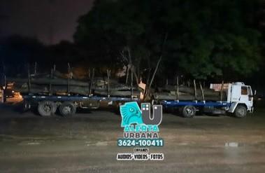 Secuestran veinte mil kilogramos de algarrobo en Miraflores