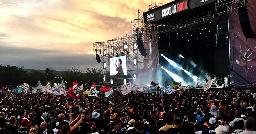 Cosquín Rock: el festival ya tiene fecha para realizarse en los Estados Unidos