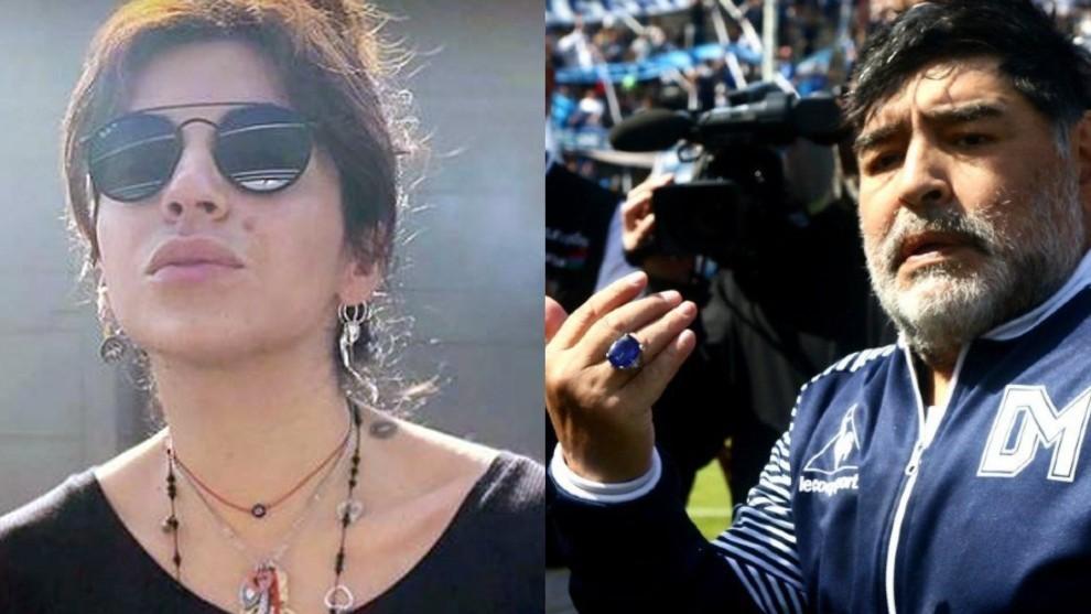 Piden la suspensión de la subasta de los bienes de Maradona hasta que Gianinna esté de acuerdo