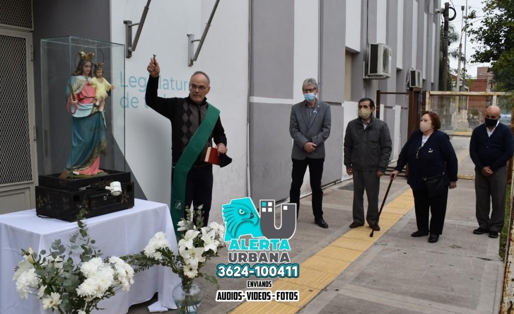 El Poder Legislativo recibió la imagen de María Auxiliadora
