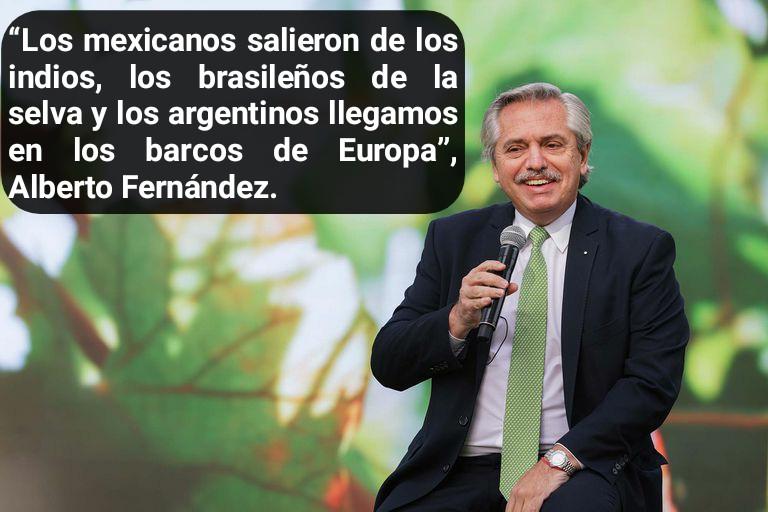 La polémica frase del presidente Alberto Fernández