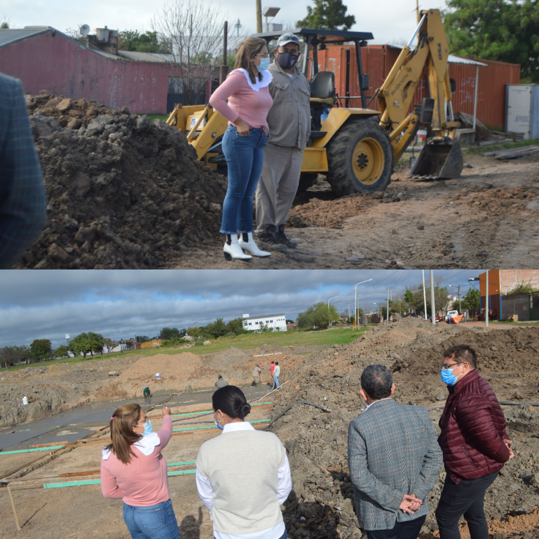 Barranqueras: avanza la construcción de la primera pileta semi olímpica