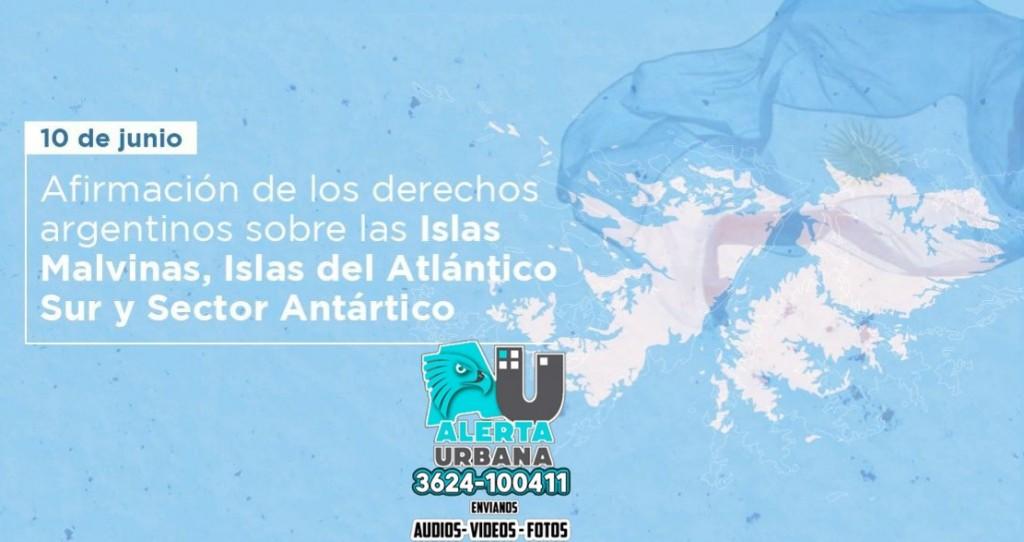 10 de junio Día de la afirmación de los Derechos Argentinos sobre las Malvinas, Islas y Sector Antártico