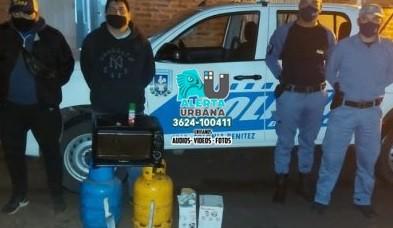 Esclarecen robo a una escuela en Colonia Benitez