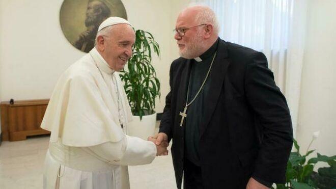 El Papa rechaza la dimisión del cardenal Marx: