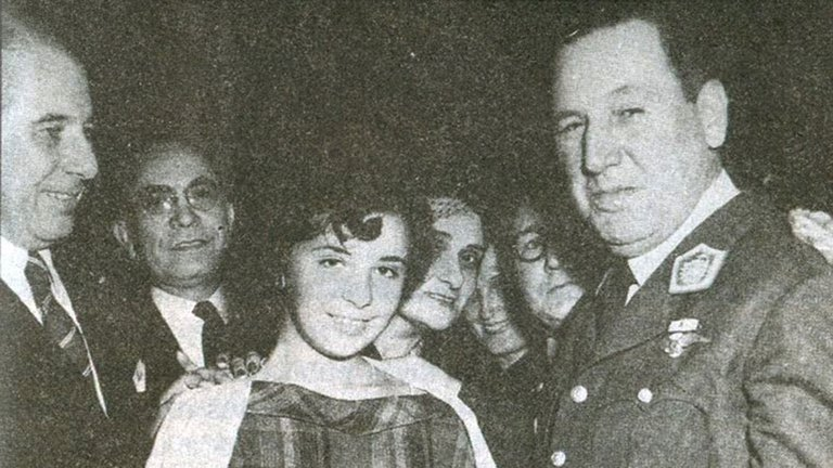 Una historia de Perón y su amante niña, Nelly Rivas