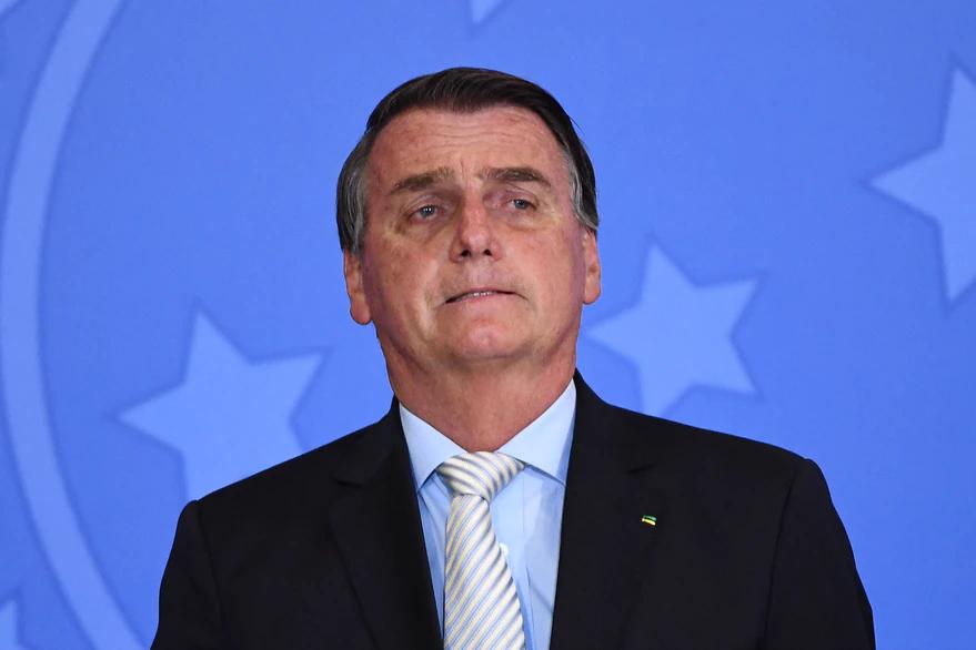 La foto que Jair Bolsonaro tuiteó para burlarse de Alberto Fernández