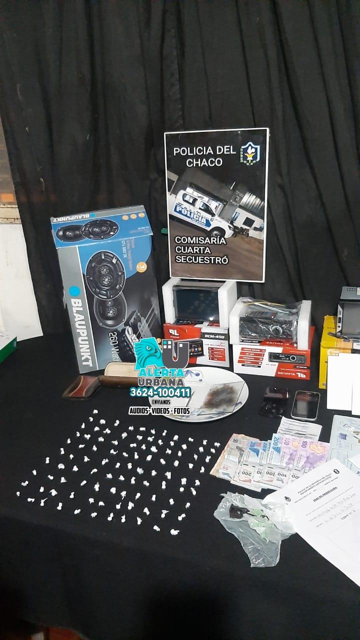 La Policía del Chaco cerró otro centro de ventas de estupefacientes