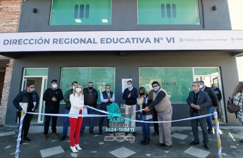 La Leonesa: inauguran la sede de la Regional Educativa Nro. 6