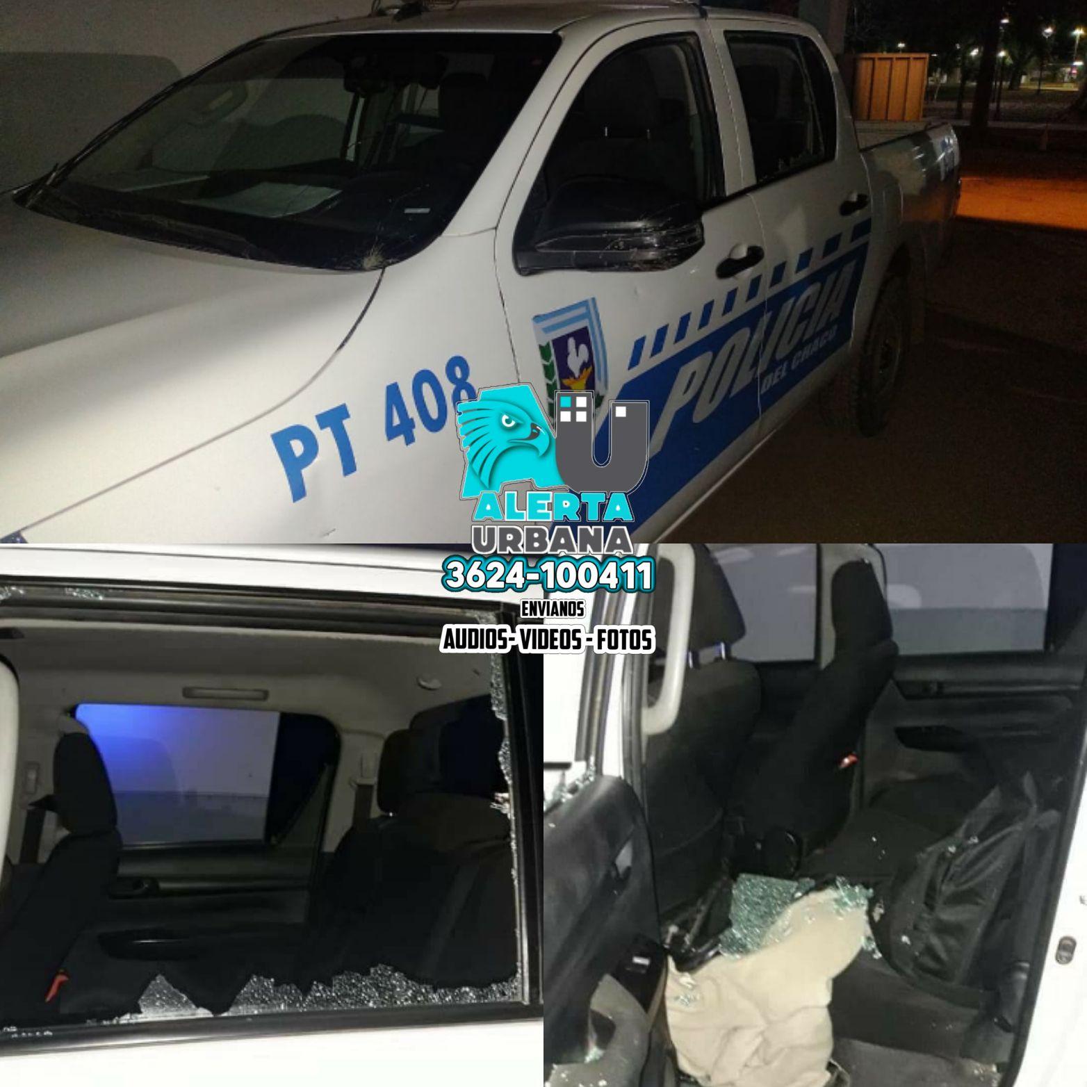 General San Martín: atacaron un móvil policial