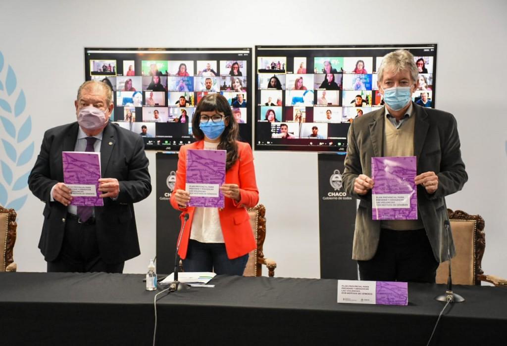 Presentaron el Plan Provincial para prevenir y erradicar las violencias por motivos de géneros