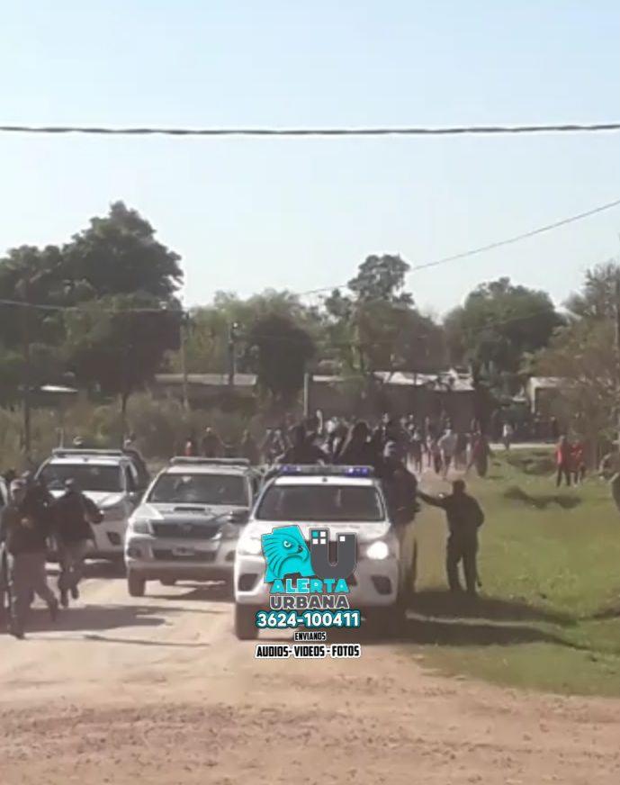 General San Martín: oficial de policía denuncia a dirigente aborigen