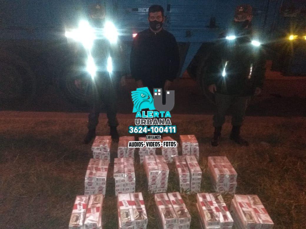 Gendarmería Nacional: secuestran importante carga de cigarrillo ilegal