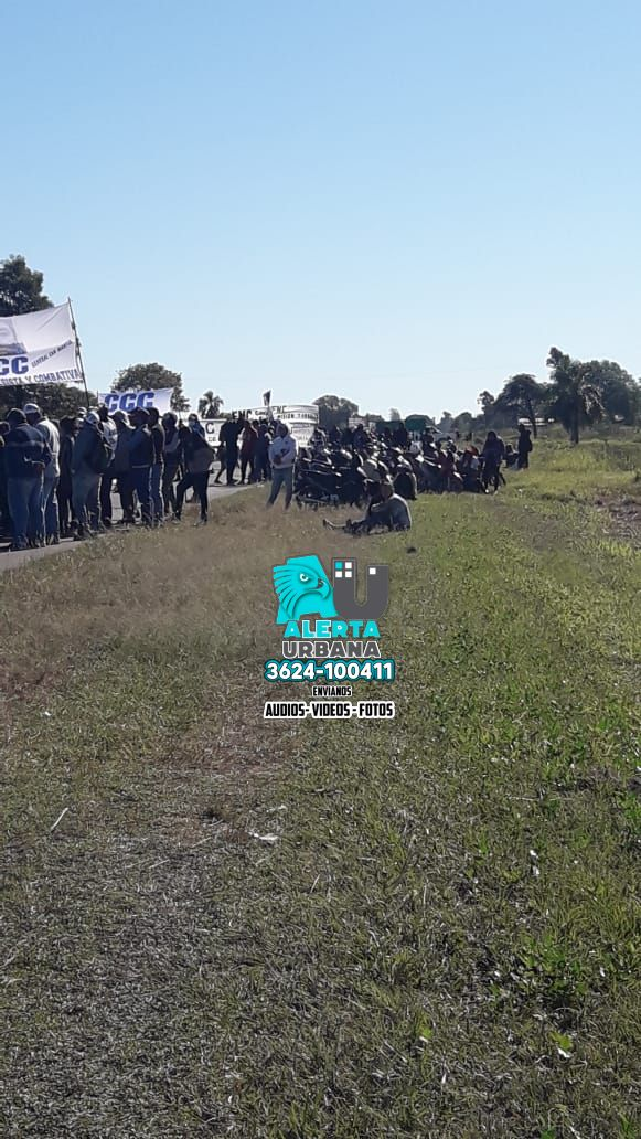 General San Martín: manifestantes atacaron un vehículo particular