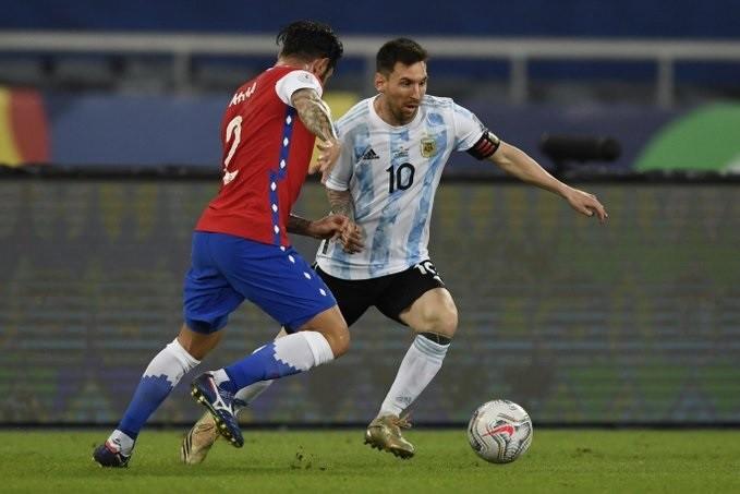 Copa América: Argentina y Chile igualaron