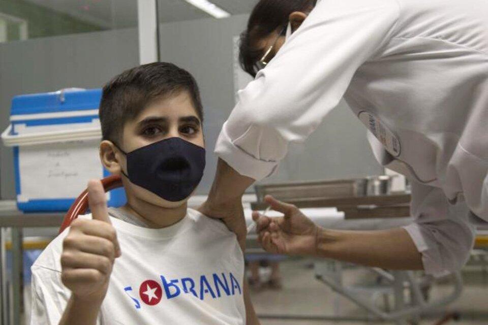 Vacuna Soberana: Cuba comenzó las pruebas en niños y adolescentes