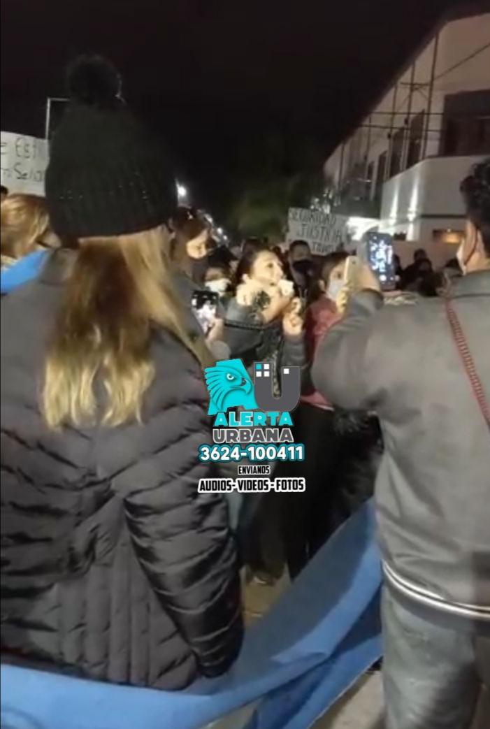 Continúa el reclamo en defensa de la policía en San Martín