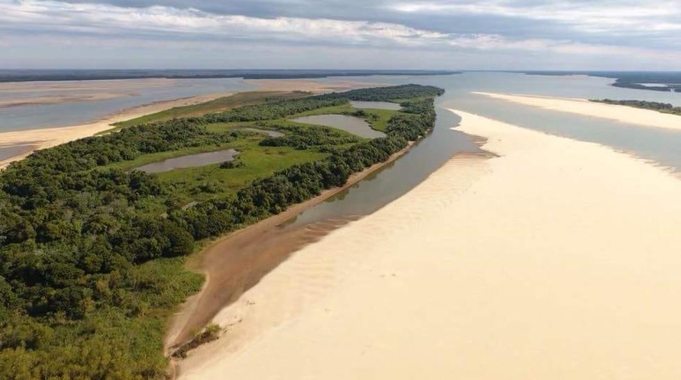 El río Paraná puede bajar a niveles cercanos al histórico