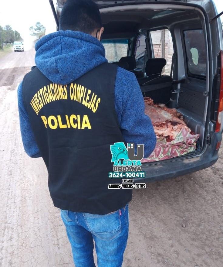 Laguna El Tigre: Se secuestró carne vacuna sin permiso de faena
