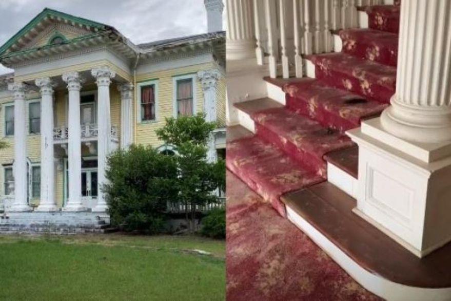 """""""¿Son manchas de sangre?"""": el video de una mansión abandonada que abrió la puerta a un posible crimen"""