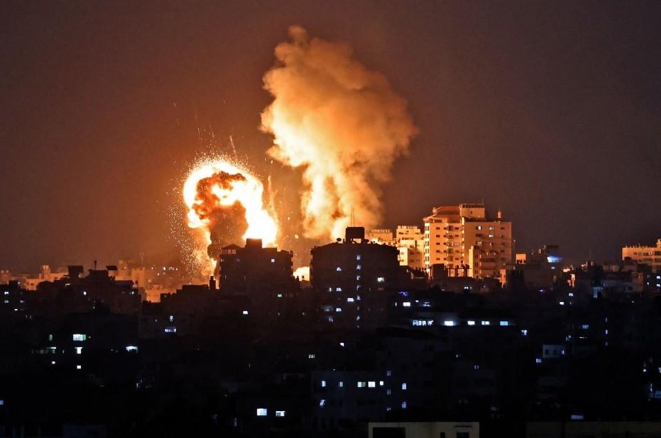 Israel volvió a bombardear la Franja de Gaza a casi un mes del alto el fuego