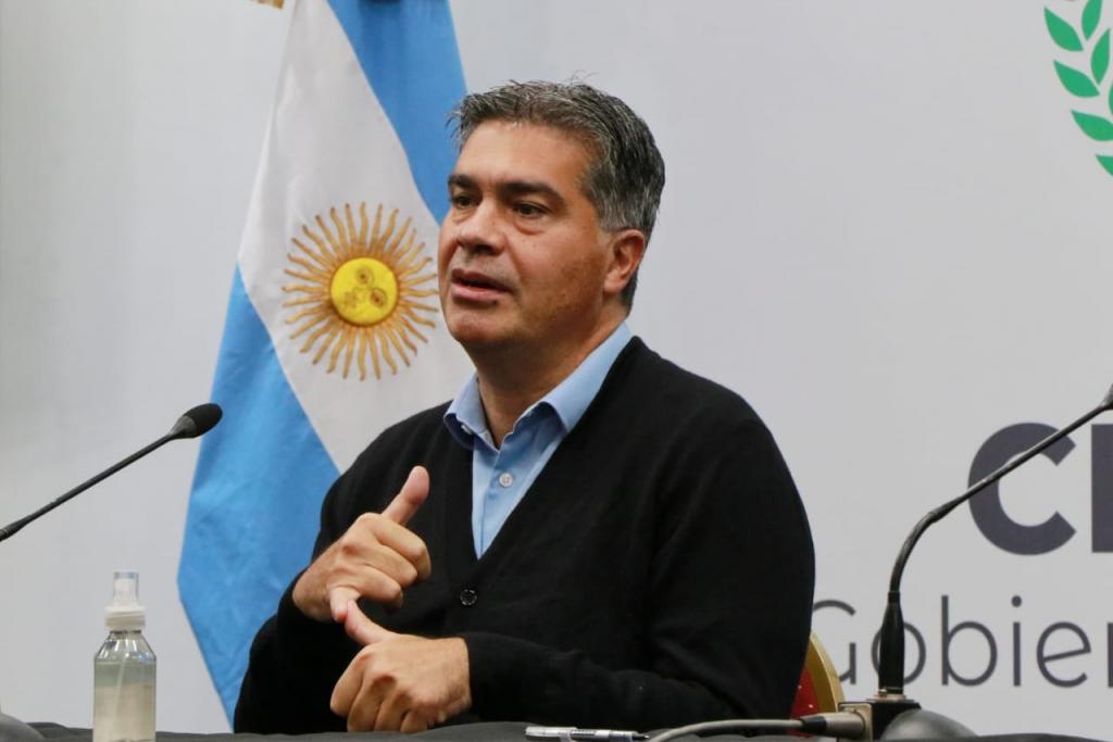 El Sr. Gobernador Jorge M. Capitanich sobre los hechos ocurridos en la Localidad de San Martin