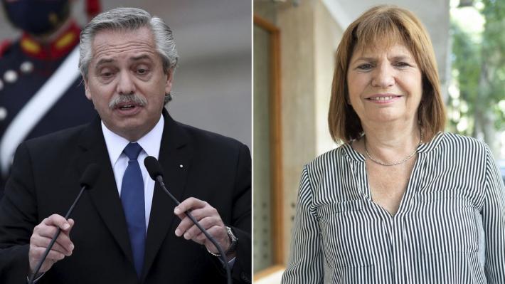 Sin conciliación: Alberto Fernández demandará a Patricia Bullrich por daños contra el honor
