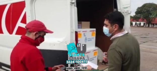Chaco: llegaron 20.800 dosis de vacunas Sinopharm