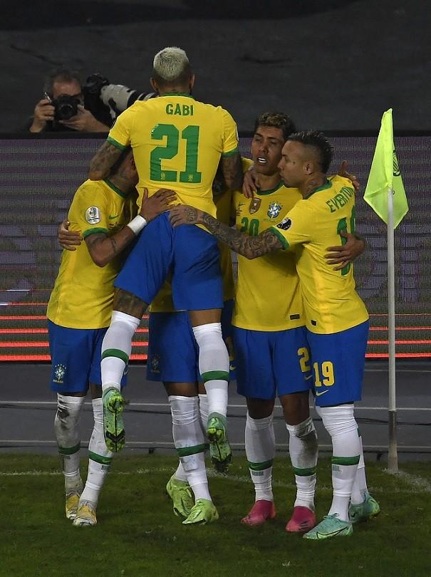 Copa América: con Polémica gano Brasil