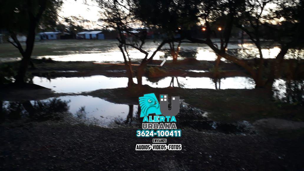 Villa Barberán: alertan inminente inundación
