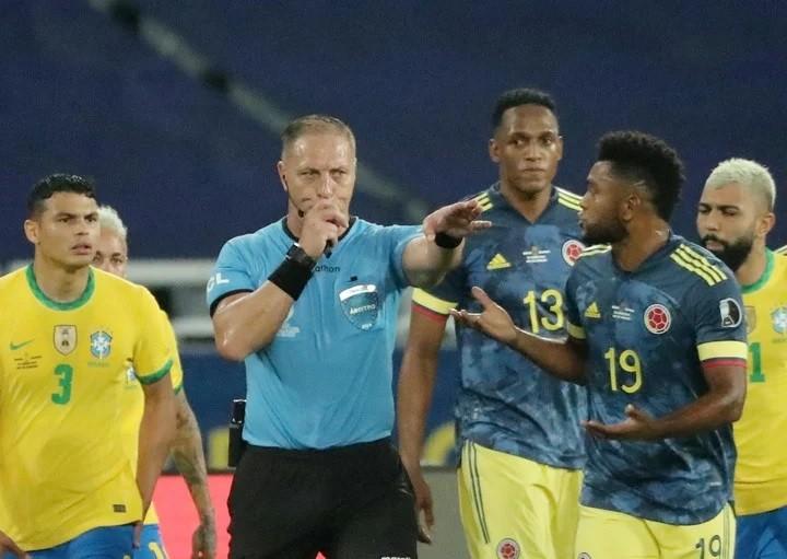La Federación Colombiana de Fútbol pidió la suspensión de Pitana