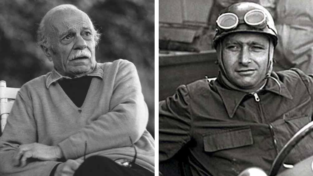 El día que Fangio y Sabato volvieron a encontrarse