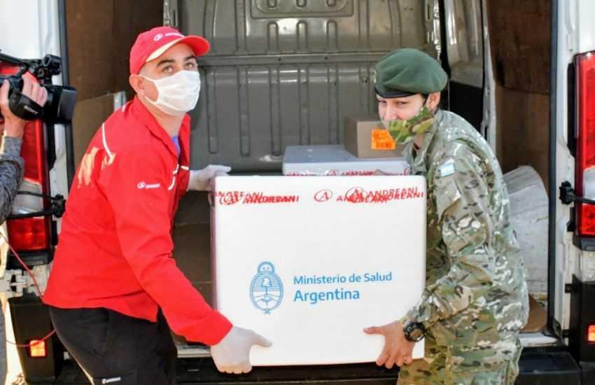 Llegan al Chaco 33.600 dosis de Sinopharm