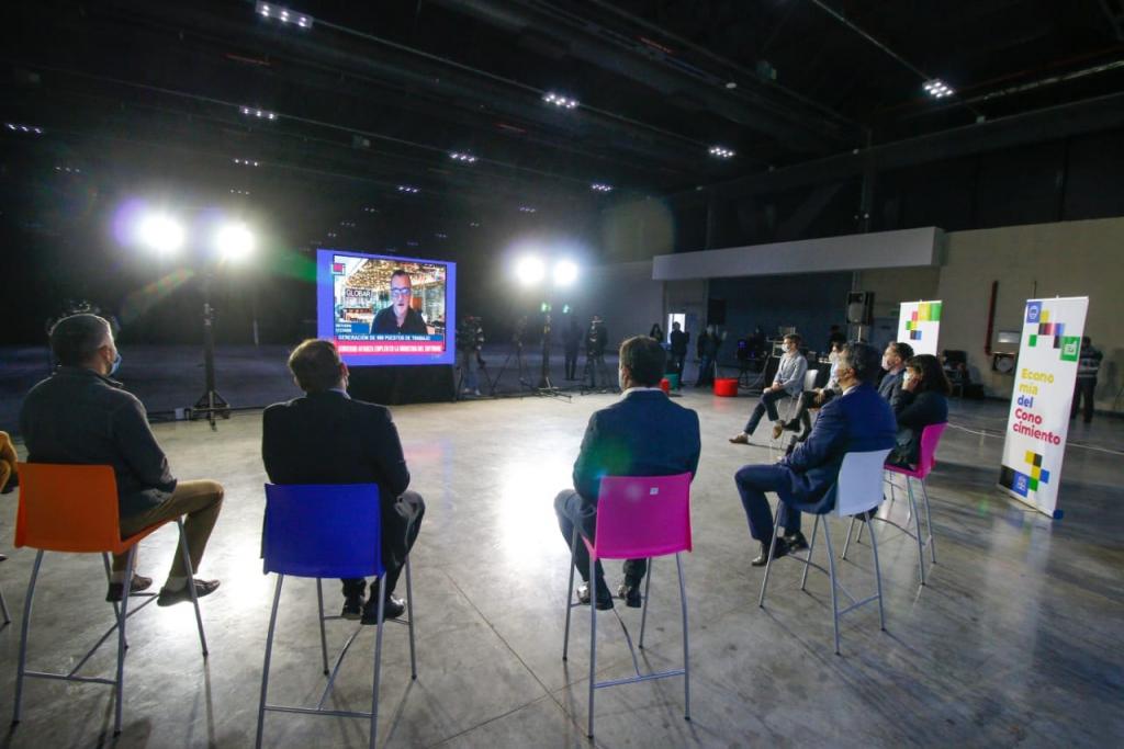 Capitanich y directivos de Globant anunciaron la creación de mil puestos de trabajo en el sector informático