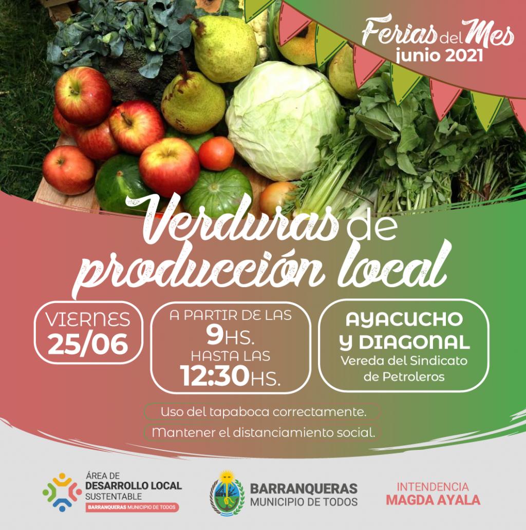 Vuelven las ferias de productos locales a Barranqueras
