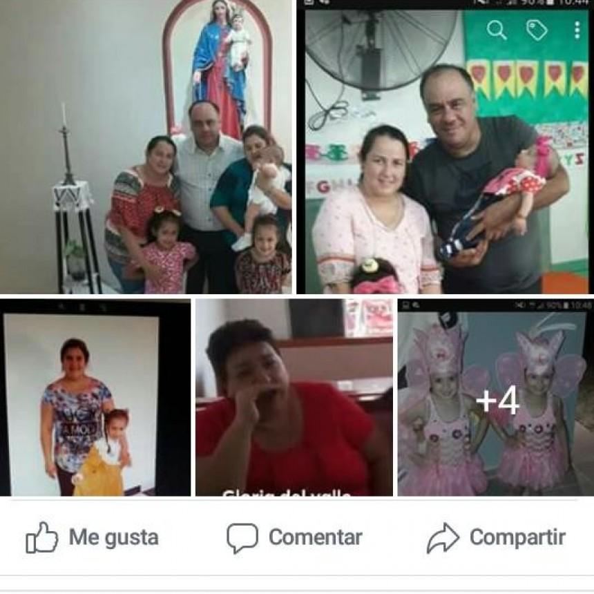 Una familia de Puerto Bermejo desaparecida desde el mes de mayo en Salta.