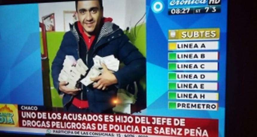 El Jefe de Drogas de Sáenz Peña aclaro sobre la confusa situación donde lo involucraron