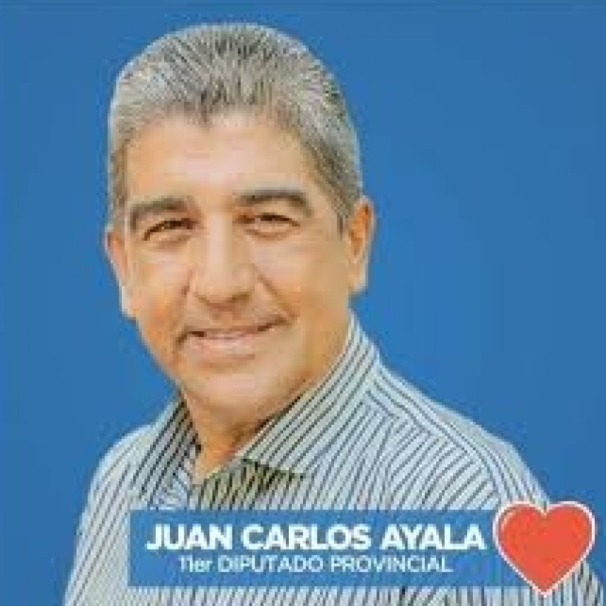 Juan Carlos Ayala reemplazará a Rubén Aquino en la Cámara de Diputados