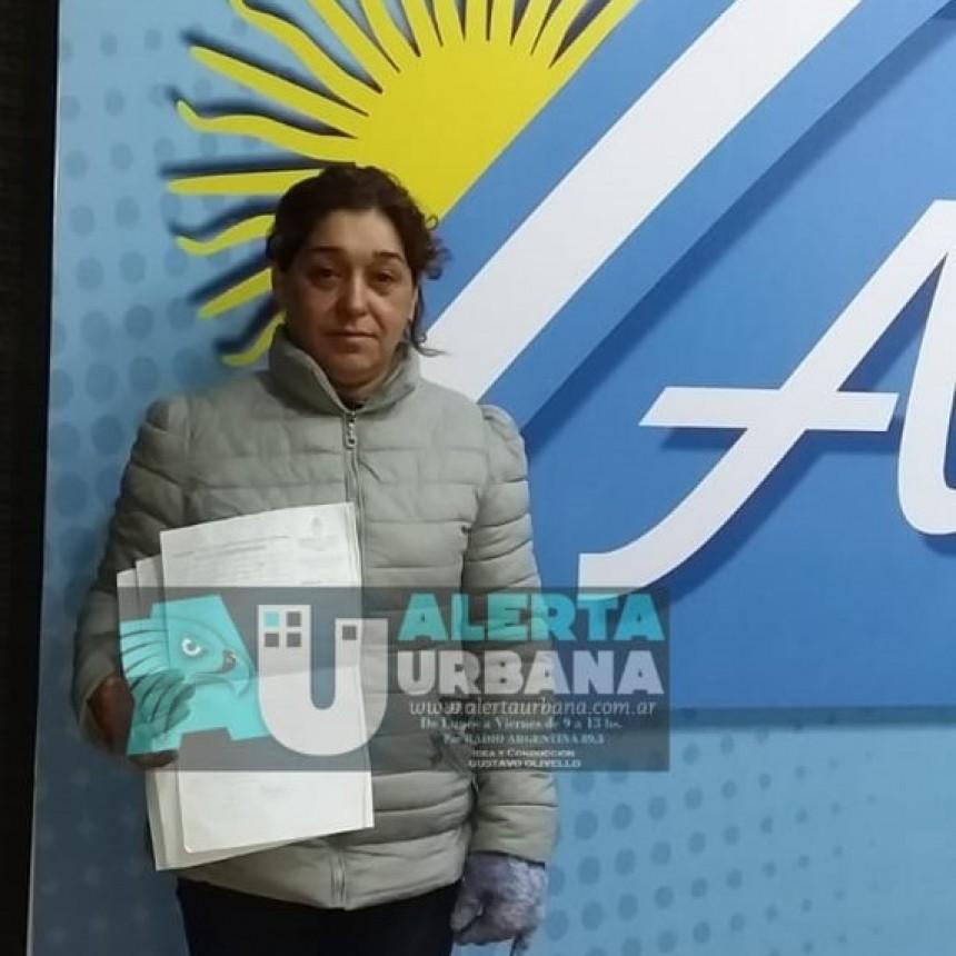 La Sra, Liliana Acosta denuncia la desaparición de un machete con el cual habrían asesinado a su hijo Hugo Daniel Ojeda Acosta