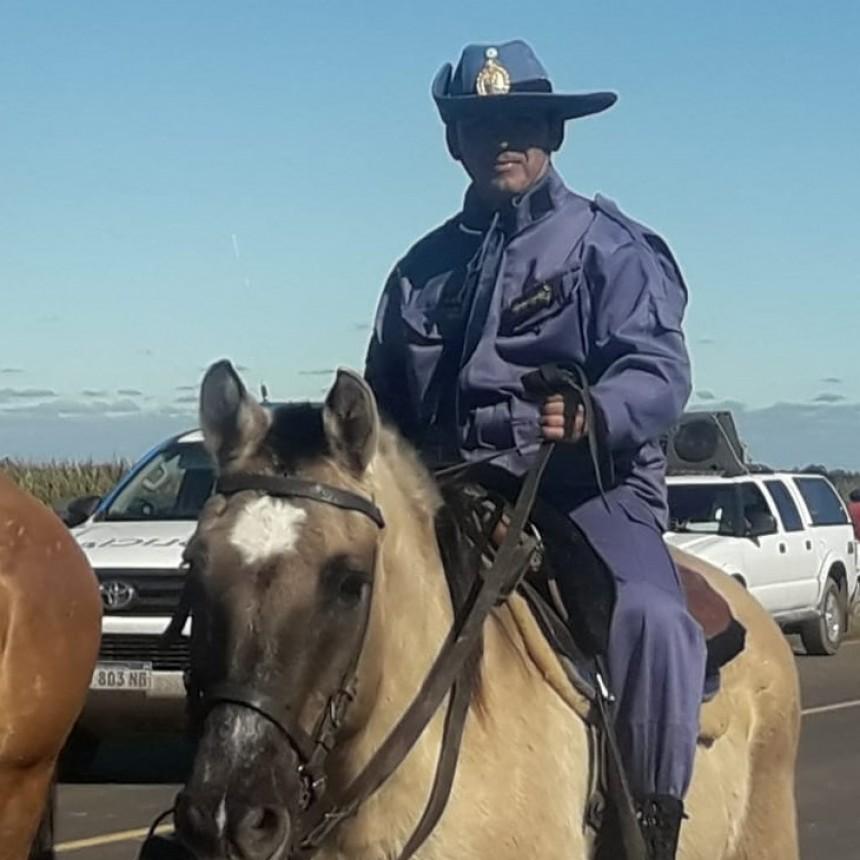 Finalizó con éxito la cobertura de seguridad de la Cabalgata de la Fe por parte de la Policía del Chaco.