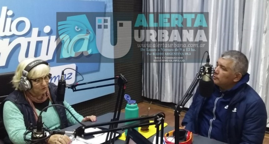 El Deporte que no se ve: el bloque semanal en Alerta Urbana de Pilar Tejedor Directora de Deportes Comunitarios del Instituto del Deporte Chaqueño.