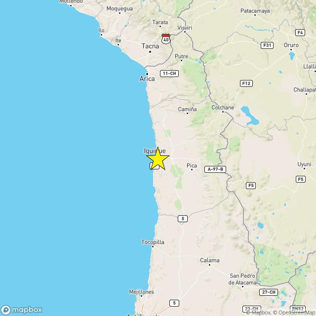 Un terremoto de magnitud 6,9 sacude Papúa Nueva Guinea y otro de 5,9 hace temblar Chile la noche del viernes