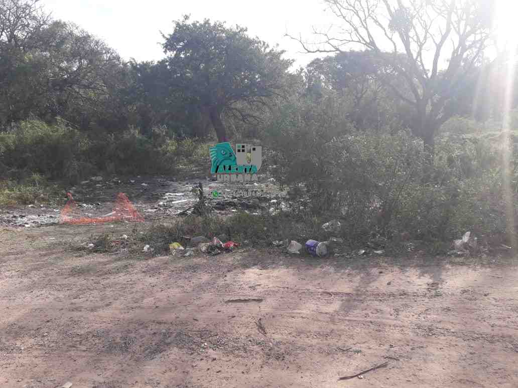 Resistencia: 30 personas intentaron usurpar un terreno en Villa Río Negro.