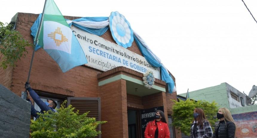 Próxima a su primer aniversario, presentan la Bandera de Resistencia en los Centros Comunitarios Municipales